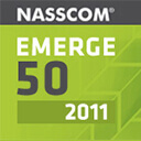 NASSCOM as Top 50 Emerging Companies